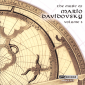 Music of Mario Davidovsky Vol 3 / Speculum Musicae