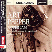 Art Pepper: Pepper Jam