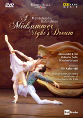 Mendelssohn: A Midsummer Night's Dream / Kabaretti/La Scala [DVD]