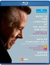 A Portrait of Mariss Jansons & Mahler: Symphony No 2 / Film by Robert Neumuller [Blu-Ray]