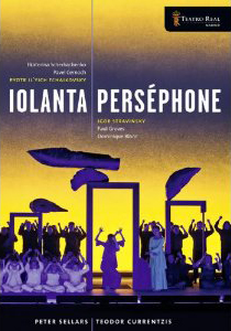 Tchaikovsky: Iolanta; Stravinsky: Persephone / Ekaterina Scherbachenko, Pavel Cernoch, Paul Groves, Dominique Blanc. Teador Currentzis, Teatro Real Orch. & Chorus. Peter Sellers, director [DVD]