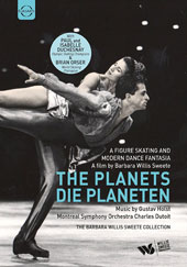 The Planets, A figure skating and modern dance fantasia - A film by Barbara Willis Sweete / Paul & Isabel Duchesnay, Brian Orser et al [DVD Video]
