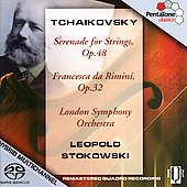 Tchaikovsky: Francesca da Rimini, Serenade / Stokowski