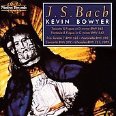 Bach: The Works for Organ Vol 1 / Kevin Bowyer