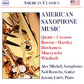 American Classics - American Saxophone Music