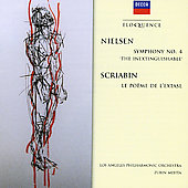 Carl Nielsen: Symphony No.4 'inextinguishable'; Scriabin: Poem of Ecstasy / Mehta, Los Angeles PO