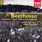 Beethoven: Symphonies no 3, 6, 8, etc / Klaus Tennstedt