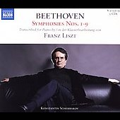 Beethoven/Liszt: Symphonies no 1 - 9 / Konstantin Scherbakov