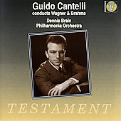 Guido Cantelli Conducts Wagner and Brahms / Philharmonia