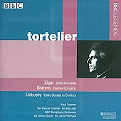 Elgar, Brahms: Cello Concertos;  Debussy: Cello Sonata / Tortelier, Lush, Boult, Pritchard, et al