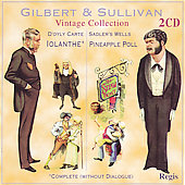 Vintage Collection - Gilbert & Sullivan: Iolanthe, etc / Mackerras, et al