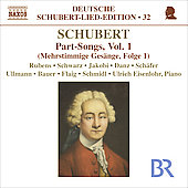 Deutsche Schubert-Lied-Edition 18 - Part Songs Vol 1