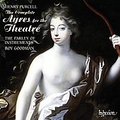 Purcell: The Complete Ayres for the Theatre / Roy Goodmanm, Parley of Instrunments