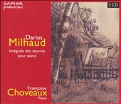 Milhaud: Int&#233;grale des oeuvres pour piano [Box Set]