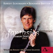 Schumann, Britten, Hawkins: Works for Oboe