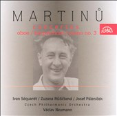 Martinu: Concertos for Oboe, Harpsichord, Piano No. 3