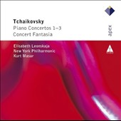 Tchaikovsky: Piano Concertos 1-3; Concert Fantasia / Elisabeth Leonskaja, piano. Kurt Masur, NY PO