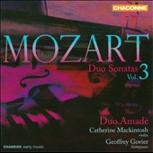 Mozart: Duo Sonatas, Vol. 3