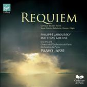 Faur&eacute;: Requiem; Cantique de Jean Racine; Elegie in c, Op. 24 / Eric Picard, cello