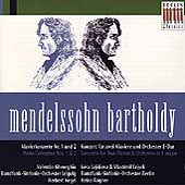 Mendelssohn: Piano Concertos / Gheorghiu, Kegel, et al
