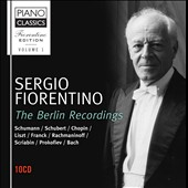 Sergio Fiorentino Edition, Vol. 1: The Berlin Recordings