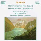 Weber: Piano Concertos nos 1 & 2, etc / Frith, O'Duinn
