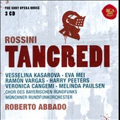 Rossini: Tancredi / Vesselina Kasarova, Eva Mei, Ramon Vargas, Harry Peeters