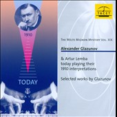 Welte Mignon Mystery, Vol. 19: Alexander Glazunov & Artur Lemba today playing their 1910 interpretations