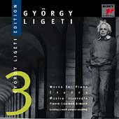 György Ligeti Edition Vol 3 - Works for Piano / Aimard