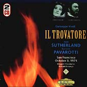 Verdi: Il Trovatore / Bonynge, Sutherland, Pavarotti, et al