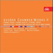 Dvorak: Chamber Works, Vol. 2 - Piano Trios, Piano Duets, String Trios, Bagatelles, Works for Violin or Cello & Piano / Josef Suk; Pavel Sporcl, Michal Kanka