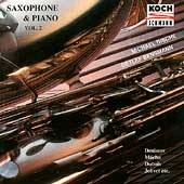 Saxophone & Piano Vol 2 / Detlef Bensmann, Michael Rische