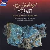 Mozart: String Quartet, String Quintet / Lindsays, Williams