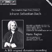 Bach: The Complete Organ Music Vol 7 / Hans Fagius
