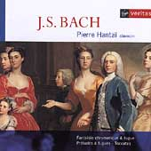 Bach: Fantaisie chromatique & fugue, etc / Pierre Hantaï