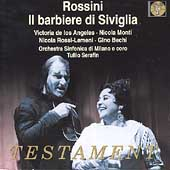 Rossini: Il Barbiere di Siviglia / Serafin, de los Angeles