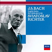 J.S. Bach: English Suites BWV 808, 809 & 811