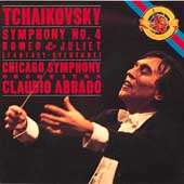 Tchaikovsky: Symphony no 4, etc / Abbado, Chicago SO