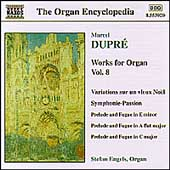Organ Encyclopedia - Dupr&eacute;: Works for Organ Vol 8 / Engels