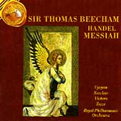 Sir Thomas Beecham Conducts Handel's Messiah