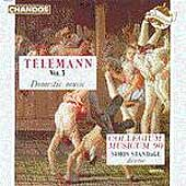 Telemann: Vol 3, Domestic music / Simon Standage