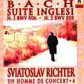 Richter Vol 4 - Bach: English Suite no 1 & 3