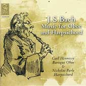Bach: Music for Oboe & Harpsichord / Hennessy, Parle