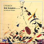 C.P.E. Bach: Trio Sonatas / Les Amis de Philippe