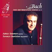 Bach:: Flute Sonatas and Harpsichord Vol 2 / Solomon, et al