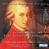 Mozart for Hands and Feet - Mozart: Symphony no 40, etc