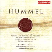 Hummel: Violin Concertos, etc / Shelley, et al