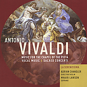 Vivaldi - Music for the Chapel of the Piet&aacute; /Chandler, et al