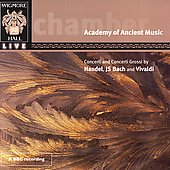 Handel, Bach, Vivaldi: Concerti / Academy of Ancient Music