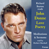 Richard Burton Reads John Donne Love Poetry, Meditations and Sermons read by Herbert Marshall